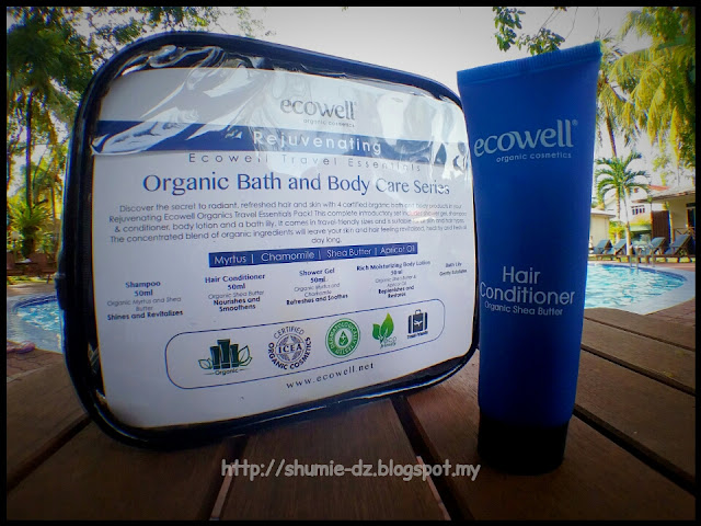 Ecowell - Travel Essentials Organic Bath and Body Care series : HAIR CONDITIONER
