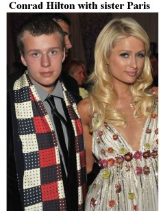 Conrad and Paris Hilton