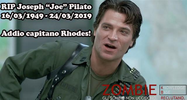 """RIP Joseph """"Joe"""" Pilato"""