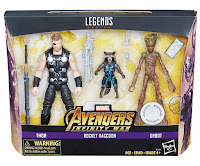 Toy Fair 2018 Hasbro Marvel Legends Avengers Infinity War multi figure packs
