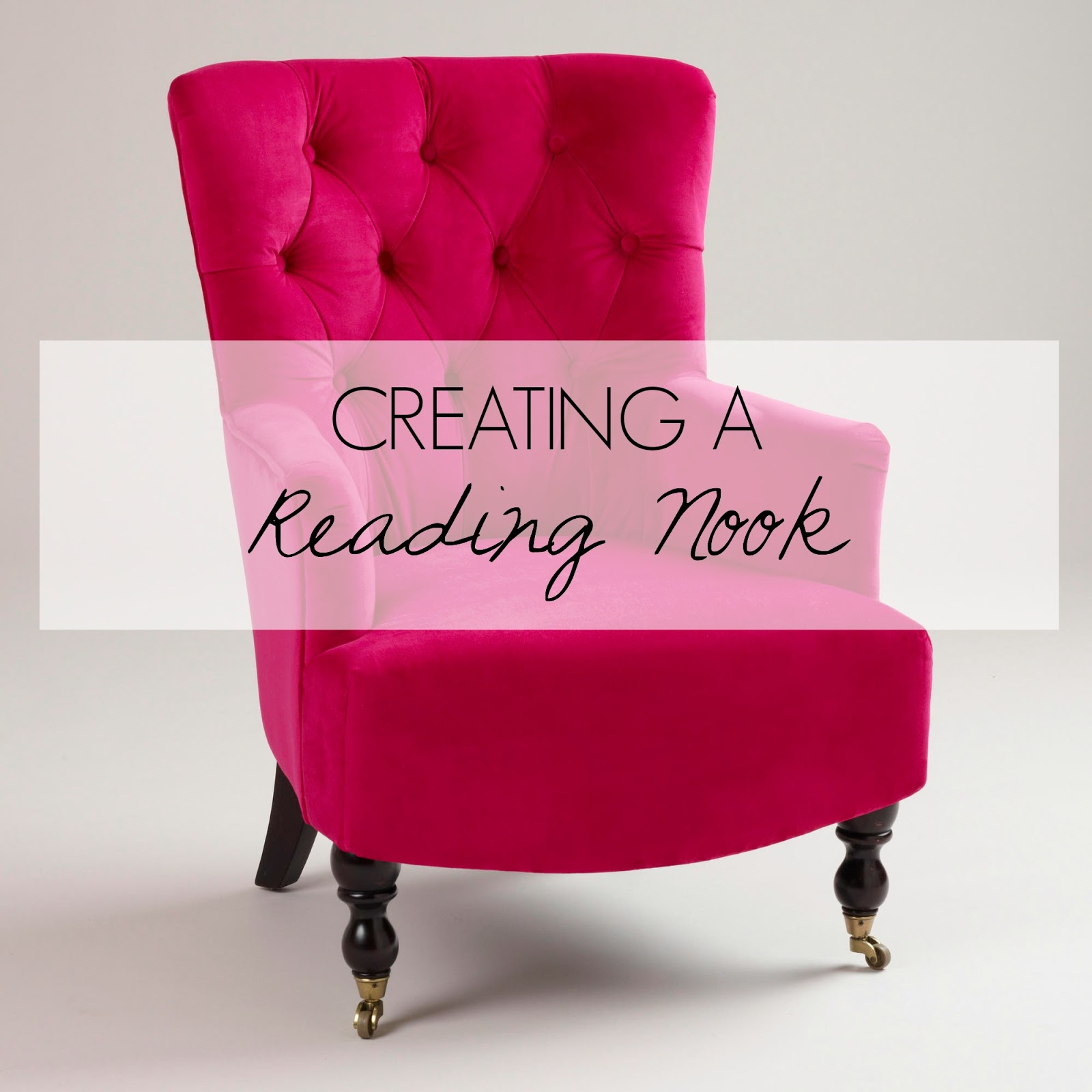 Defined Designs: Creating a Reading Nook
