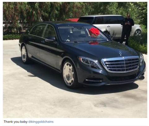 Tyga s ferrari repossessed over failure to pay lease for Mercedes benz of calabasas staff