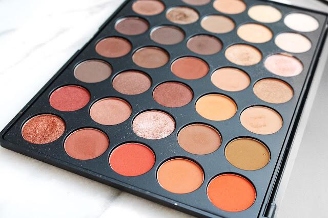 Morphe 350 Eye Shadow Palette Review