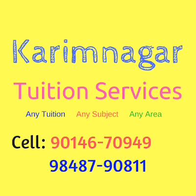 Home Tuitions in Karimnagar