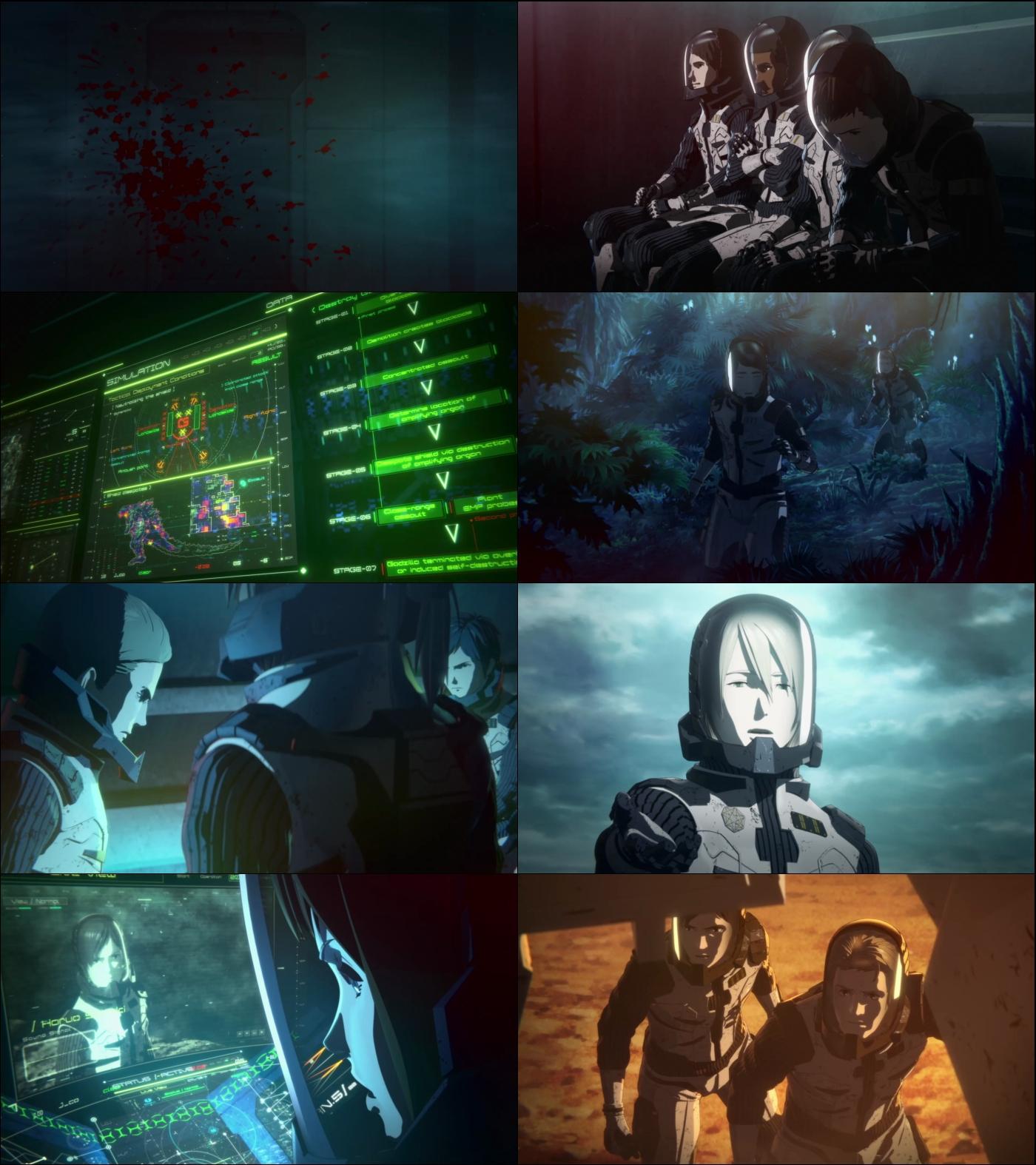 Godzilla El planeta de los monstruos 1080p Latino