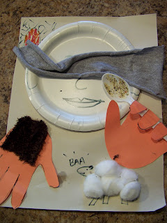 Five Senses Bible Lesson wrap-up craft