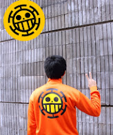 limited shoping jaket anime onepiece bepo (bepo) 220k 4