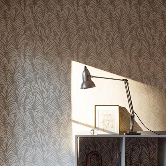 2eme porte a gauche le papier peint art deco. Black Bedroom Furniture Sets. Home Design Ideas