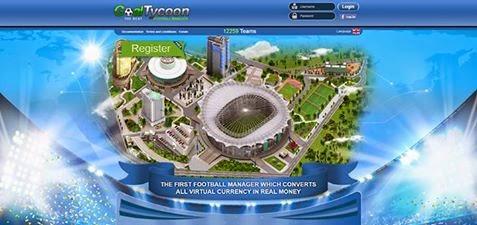 الشرح الكامل لأقوى لعبة ربحية (لعبة جول تايكون) GoalTycoon Best FootBall Manager Game