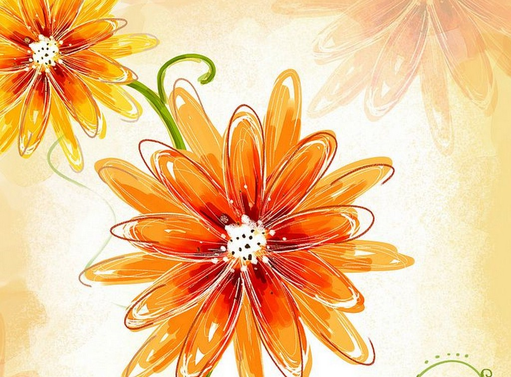 Pintura Moderna Y Fotografia Artistica Flores Dibujos Y Disenos