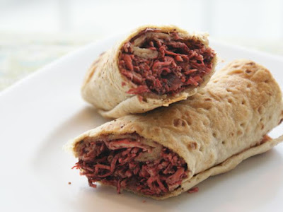 Musakan Rolls with Olive Oil