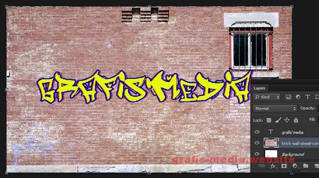 pertemuan kali ini ada tutorial gres lagi perihal dampak teks Cara Membuat Tulisan Graffiti Dinding Dengan Photoshop