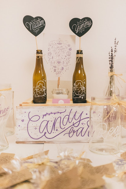 Mesas de dulces para bodas.