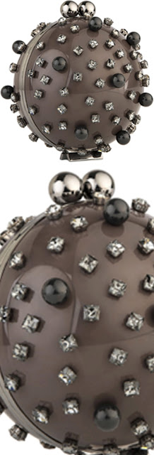 Brilliant Luxury ♦ Marzook Anne Boleyn spherical ball bag