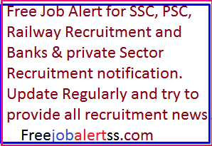 Freejobalert latest notification for Sarkari jobs