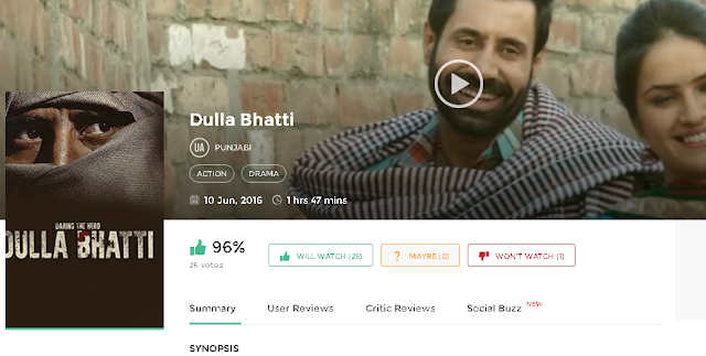 Dulla Bhatti 2016 Full Punjabi Movie 700mb HD 3