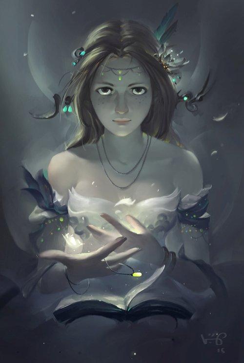 Le Vuong vuogle deviantart ilustrações fantasia