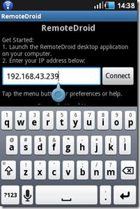 Membuat Hp Android Sebagai Remote PC