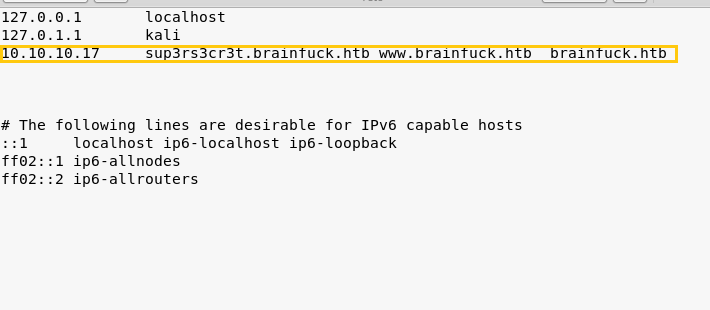 Hack the Box Challenge: Brainfuck Walkthrough