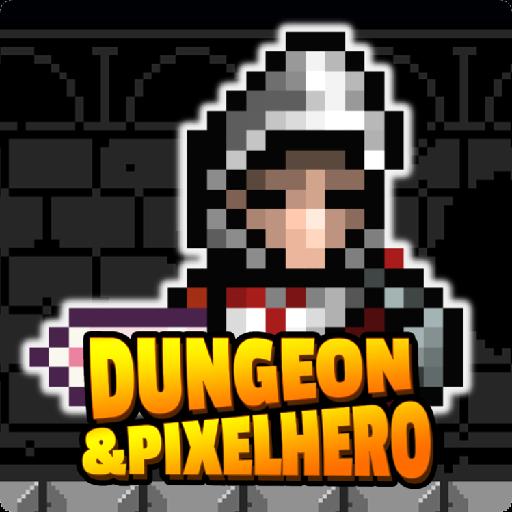 تحميل لعبه Dungeon n Pixel Hero - Retro RPG مهكره اخر اصدار