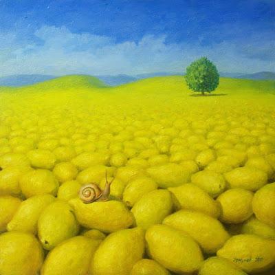 Pintura de limón