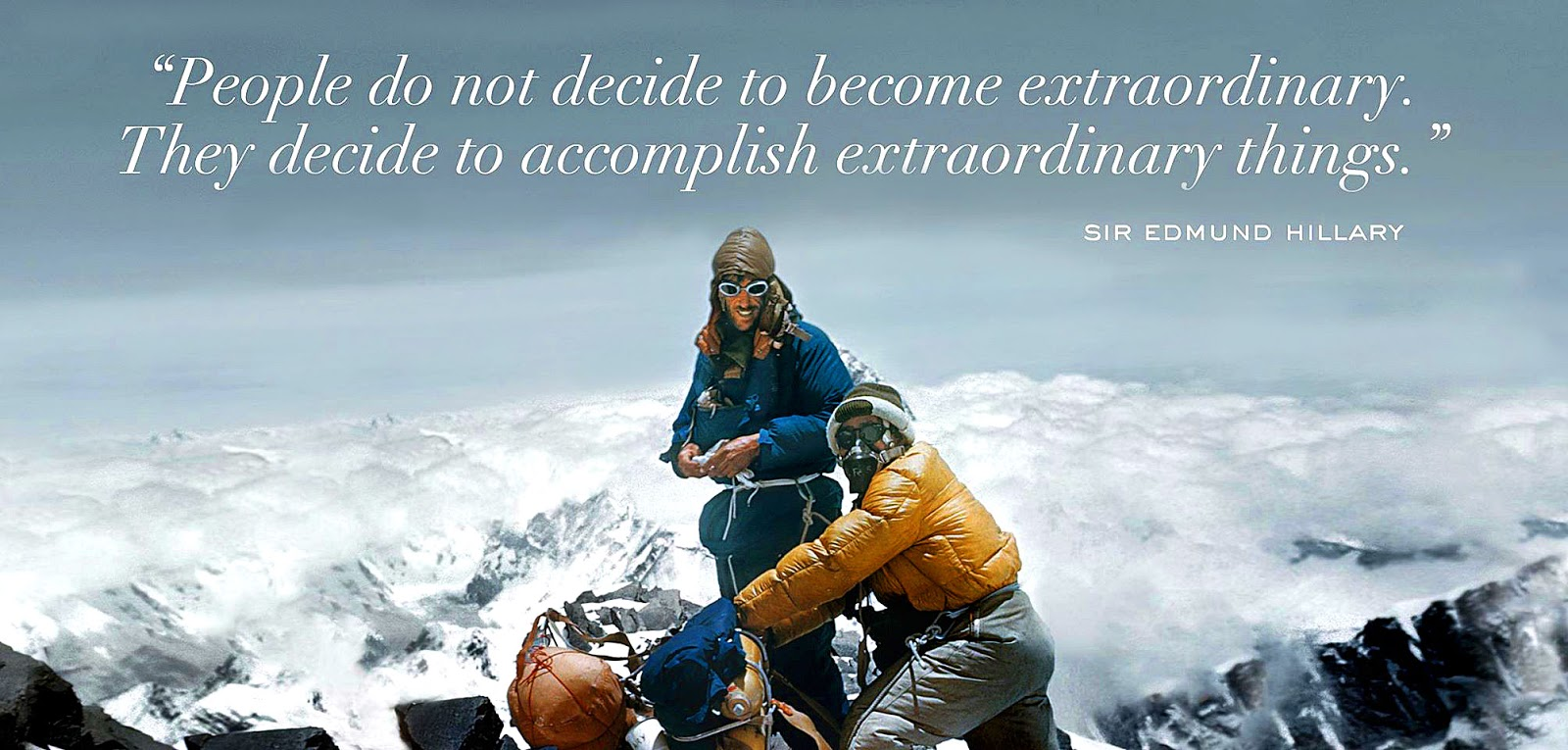 Tenzing Norgay On Top Of The World