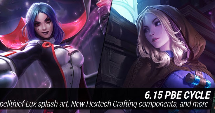 surrender at 20 719 pbe update new spellthief lux and