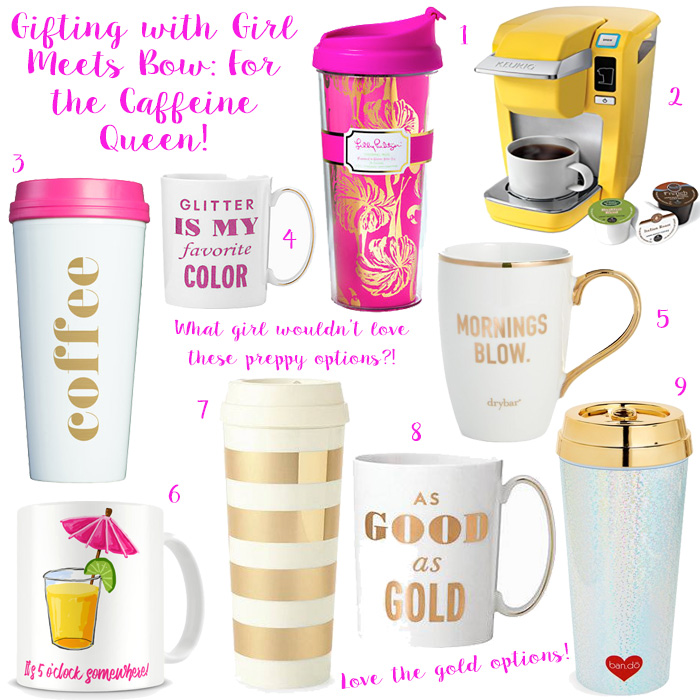 Gifting with Girl Meets Bow: For the Caffeine Queen