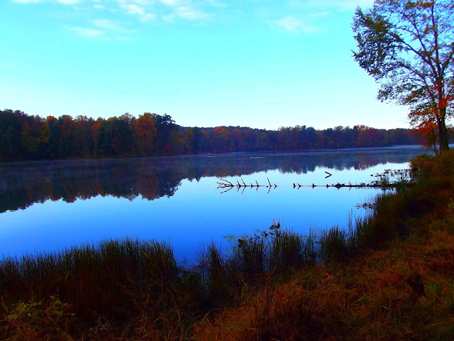 Indiana Photo of the Day - Lake Lincoln From Mr Lincoln'S Neighborhood Walk, - Lincoln State Park