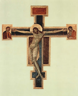 Cimabue's Crucifix has undergone painstaking restoration work