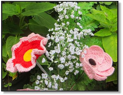 Sommerblumen häkeln