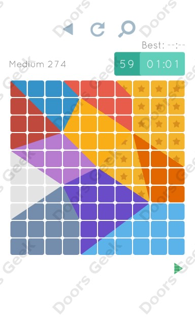 Cheats, Walkthrough for Blocks and Shapes Medium Level 274