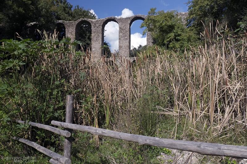 L'acquedotto di Monterano