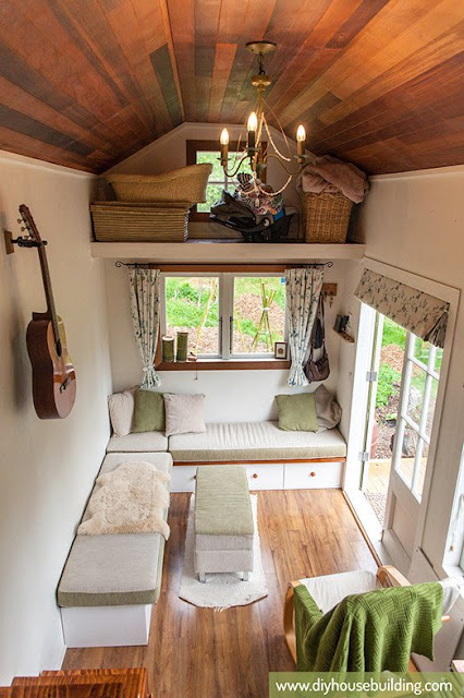 186 sq ft New Zealand Tiny House living space