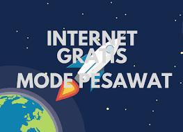 Cara Mudah Internet Gratis Mode Pesawat di Android Terbaru 100% Berhasil!