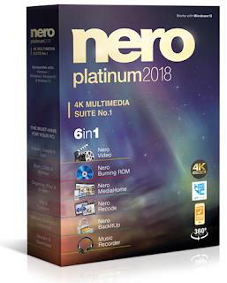 Nero 2018 Platinum 19.0.06900 Retail + Content Pack + Tutorial (Español)