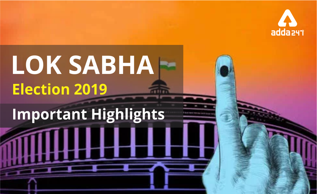 Result of 17th Lok Sabha Election 2019: Important Highlights