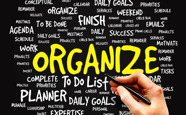 15 طريقة لتنظيم حياتك الآن