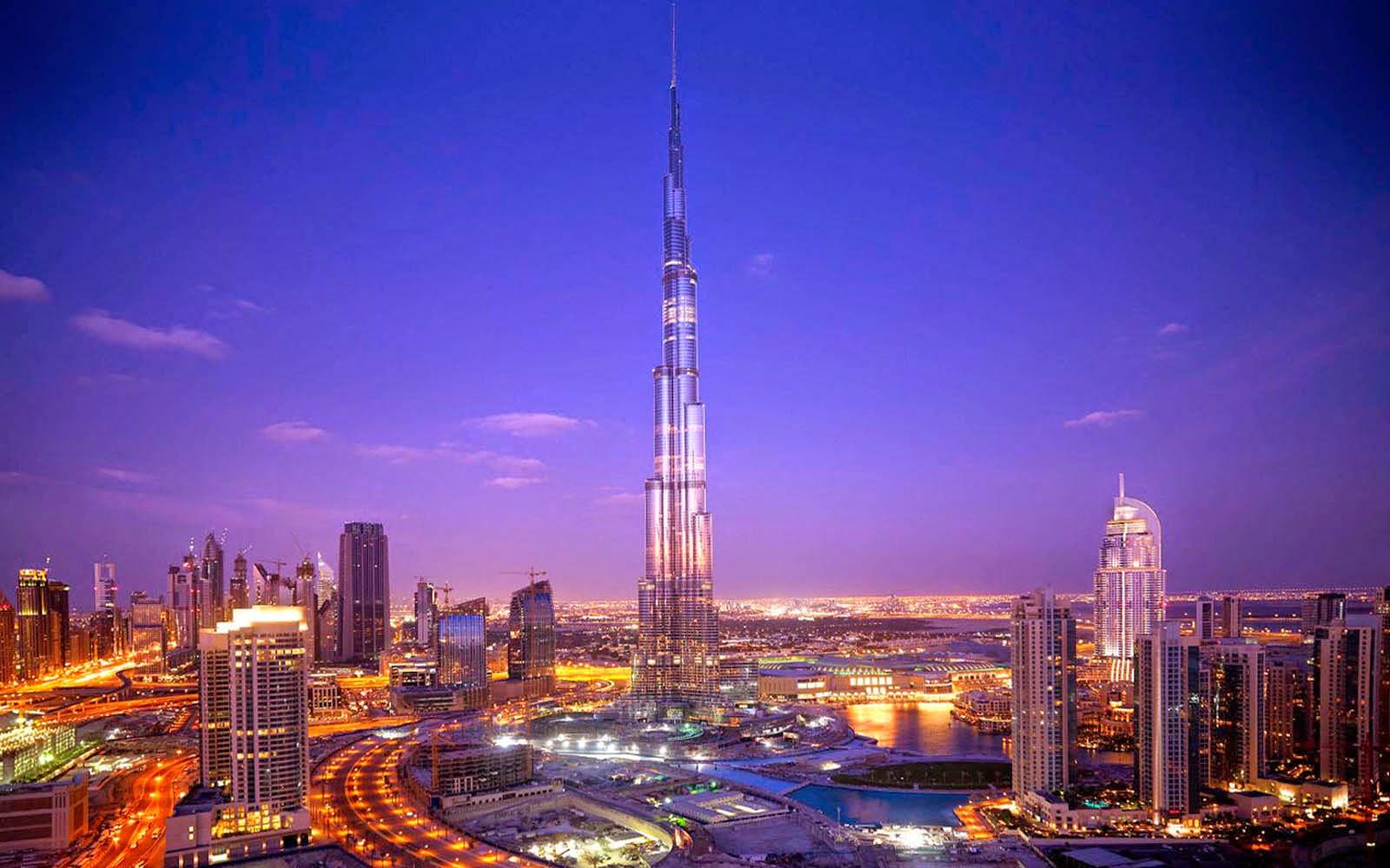 HD Wallpapers: Burj Khalifa Wallpapers At Night