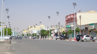 Avenue de General de Gaule in Nouakchott