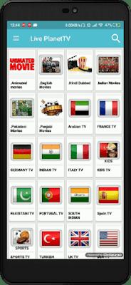 تحميل تطبيق Live Planet TV الرائع لمشاهدة جميـع قنوات العالم المشفرة على الاندرويد