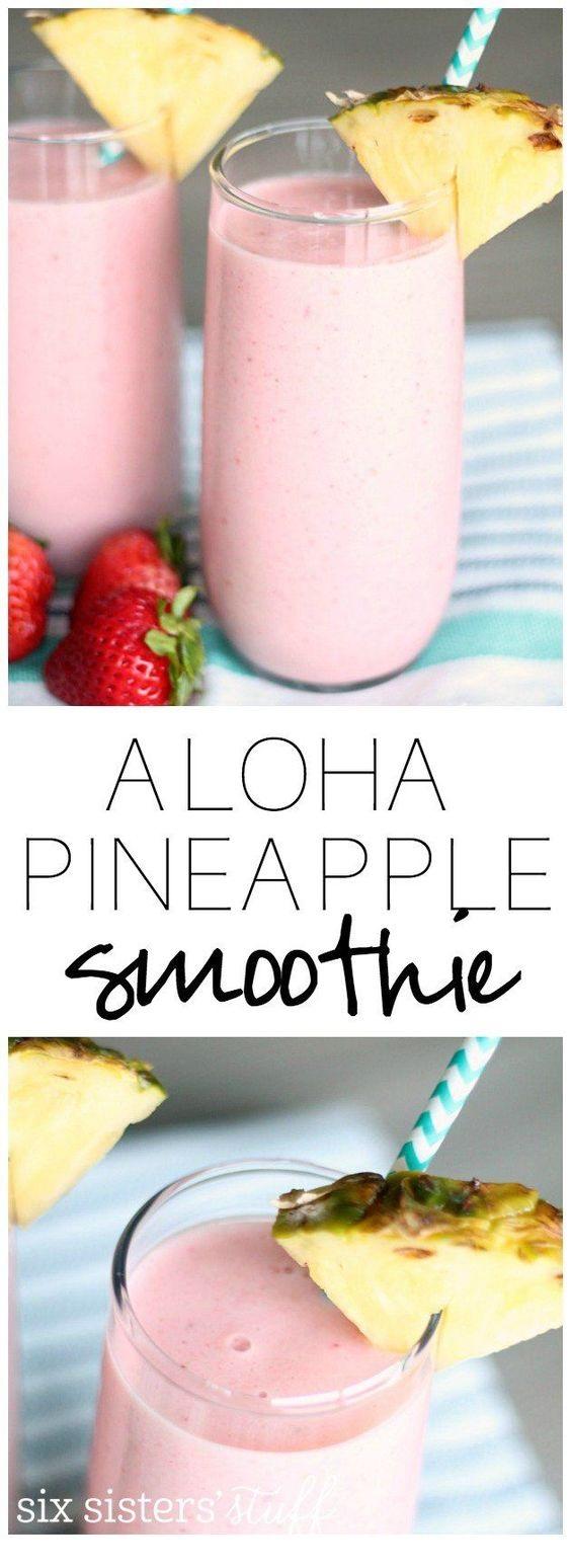 Copycat Jamba Juice Aloha Pineapple Smoothie Recipe