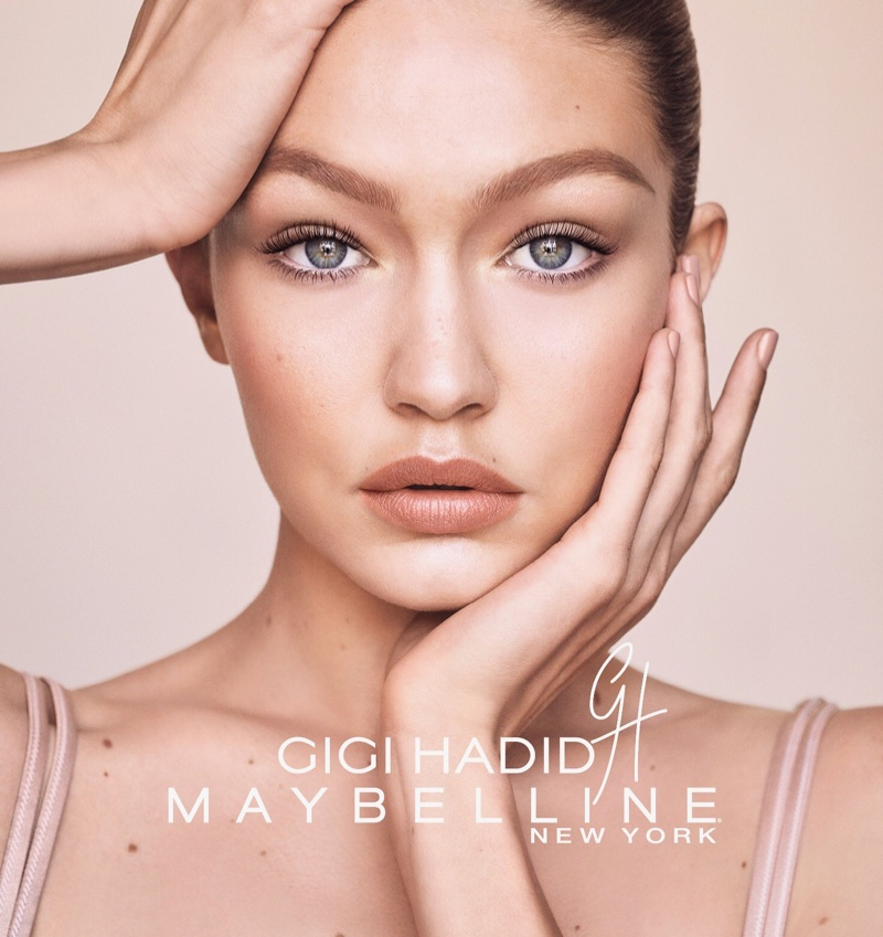 Gigi x Maybelline Collaboration Marks New Trend in Cosmetics Line