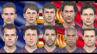 PES 2019 Facepack Barcelona Legends v2 by MictlanTheGod