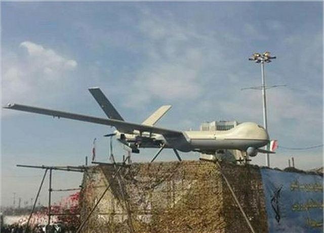 Militer Iran Luncurkan Rancangan Drone Mematikan Model baru Shahed 129