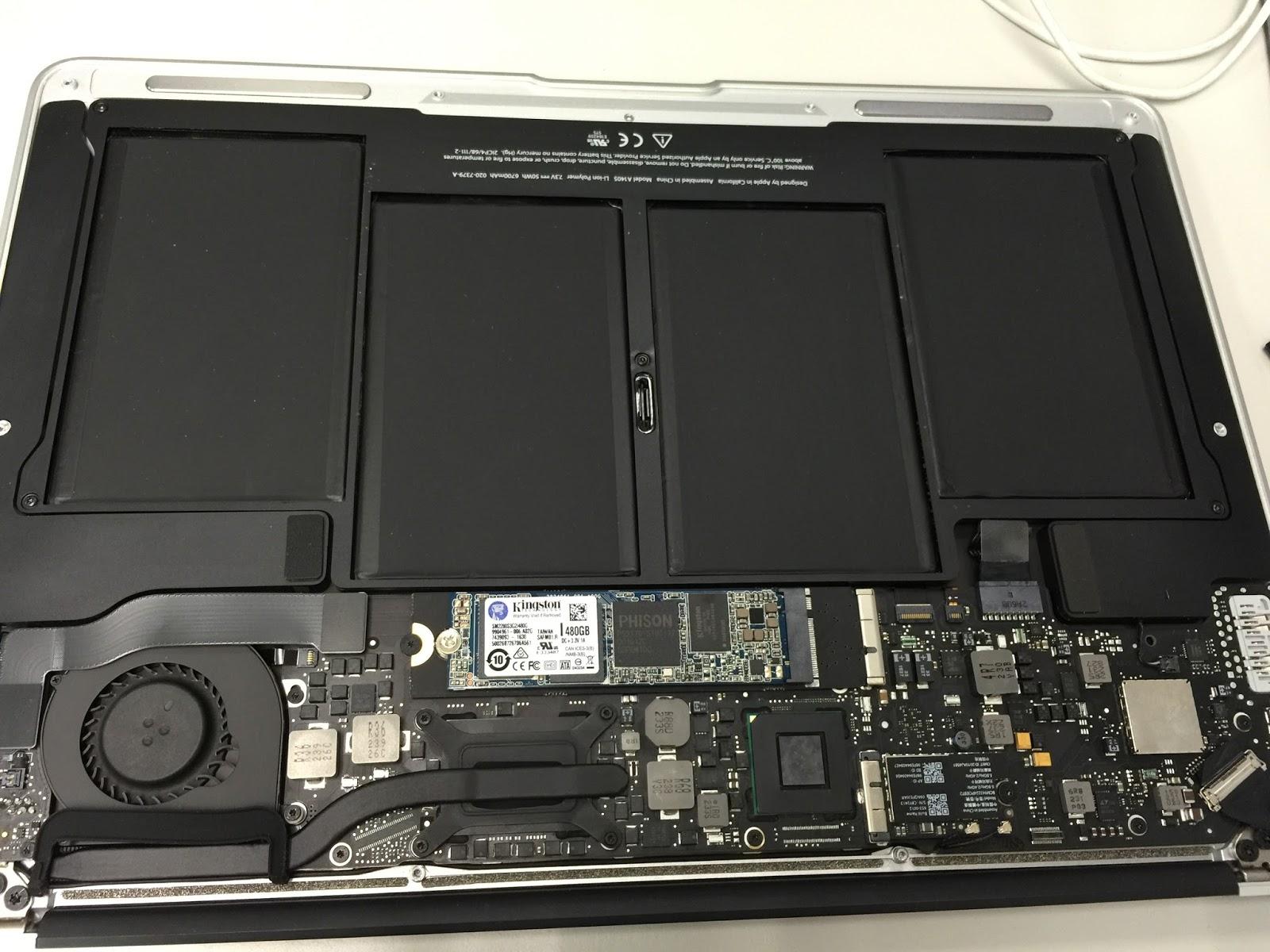 [MAC] MacBook Air 2012 手動換硬碟
