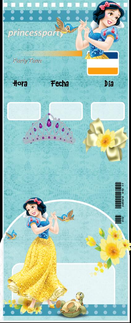 Etiquetas de Blancanieves para imprimir gratis.
