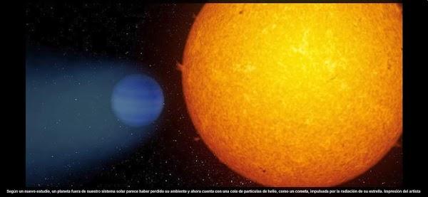 Hallan un planeta afuera de nuestro sistema solar.
