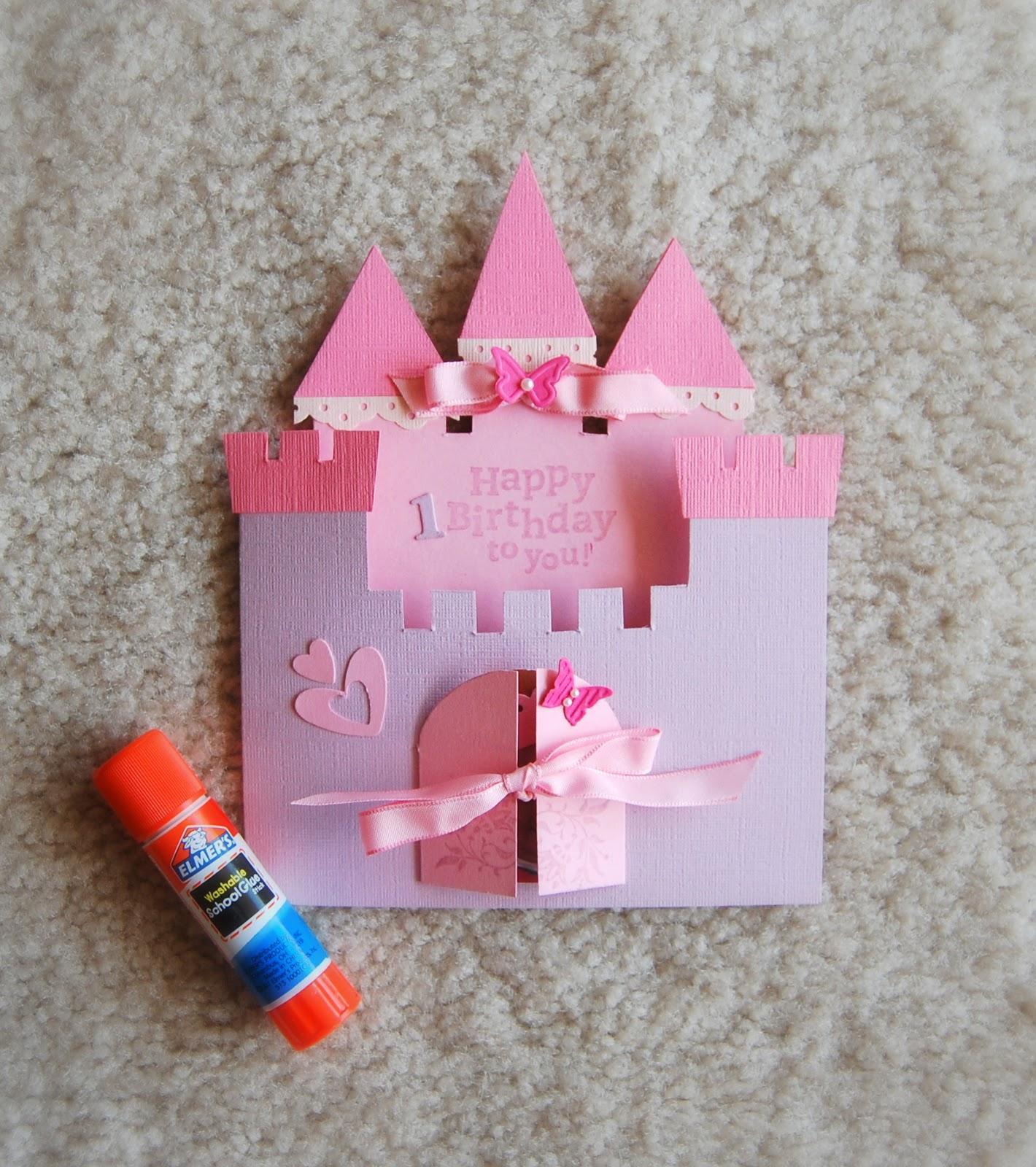 День, замок открытка