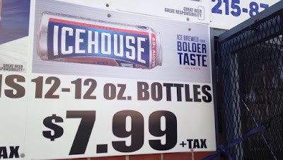 Tax Foundation (Ben Rickards): 4 Janauary 2017 Sale Price of 12-Pack of 12-Oz Bottles of Icehouse Beer